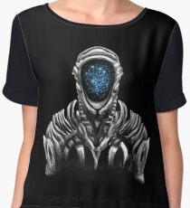 Lost In Space Robot (Original Blue Refined) Chiffon Top