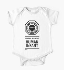 Dharma Initiative Human Infant Onesie One Piece - Short Sleeve