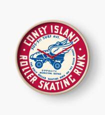 Coney Island Roller Skating Rink Clock