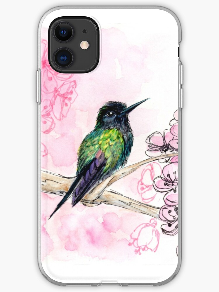 Hummingbird Love iphone 11 case