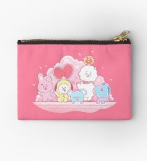 BT21 Cherry Blossoms Zipper Pouch