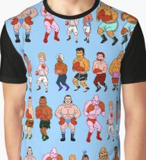 Punch-Out / Opponents Graphic T-Shirt