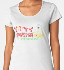 Titty Twister Women's Premium T-Shirt