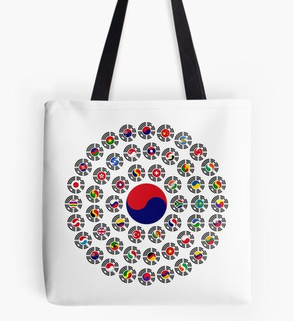 We Are Korea Multinational Patriot Flag Collective 1.0 Tote Bag