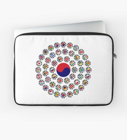 We Are Korea Multinational Patriot Flag Collective 1.0 Laptop Sleeve
