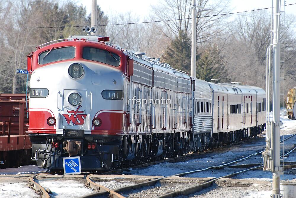 Wisconsin Southern Train 101 by rfsphoto