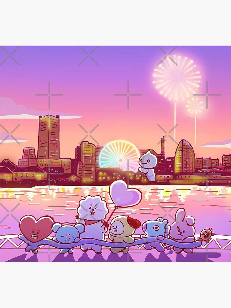 BT21 Sunset Celebration de PrincessHojoon