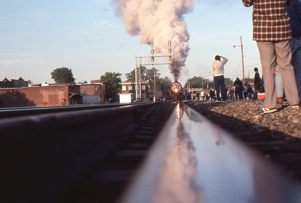 Steaming Up--Original by GMooneyhan