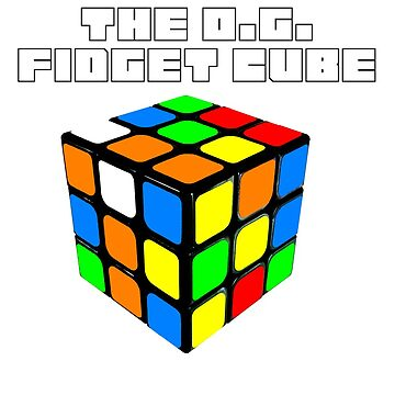 The O.G. Fidget Cube (Rubik's Cube) by kiprobinson