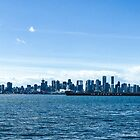 City of Vancouver from the North Shore by Amyn Nasser