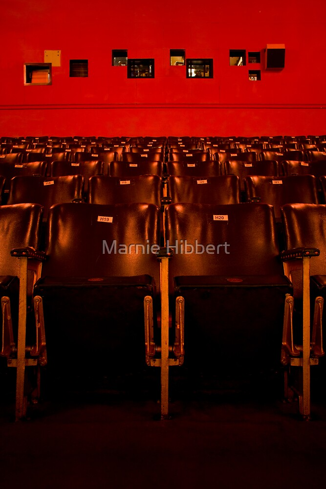 Red Astor Theatre by Marnie Hibbert