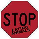 «deja de comer animales» de NicoleHarvey