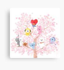 BT21 Cherry Tree Canvas Print