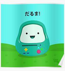 Daruma BMO 46 Adventure Time Poster