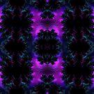 Aurora Borealis at Midnight Fractal Abstract by Artist4God