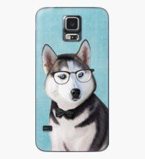 Mr Siberian Husky Case/Skin for Samsung Galaxy