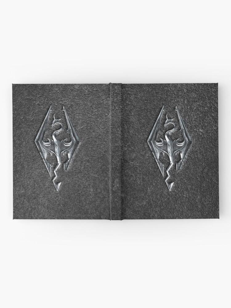 Alternate view of Skyrim Logo - Iron Embossed in Granite Hardcover Journal
