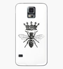 Queen Bee | Black and White Case/Skin for Samsung Galaxy