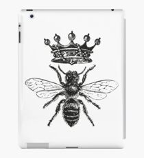 Queen Bee | Black and White iPad Case/Skin