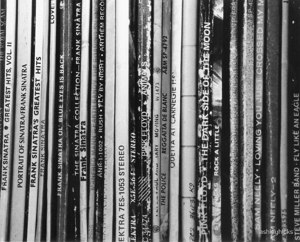 Records #1 by ashleyhicks