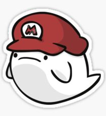 Super Smash Boos - Mario Sticker