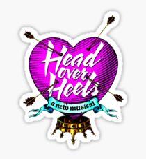 head over heels Sticker