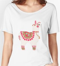 The Alpaca Women's Relaxed Fit T-Shirt