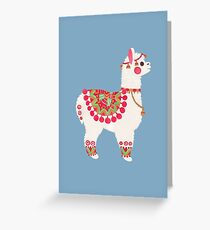 The Alpaca Greeting Card