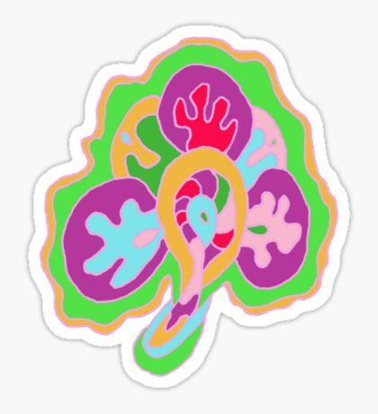 Coral Leaf Sticker