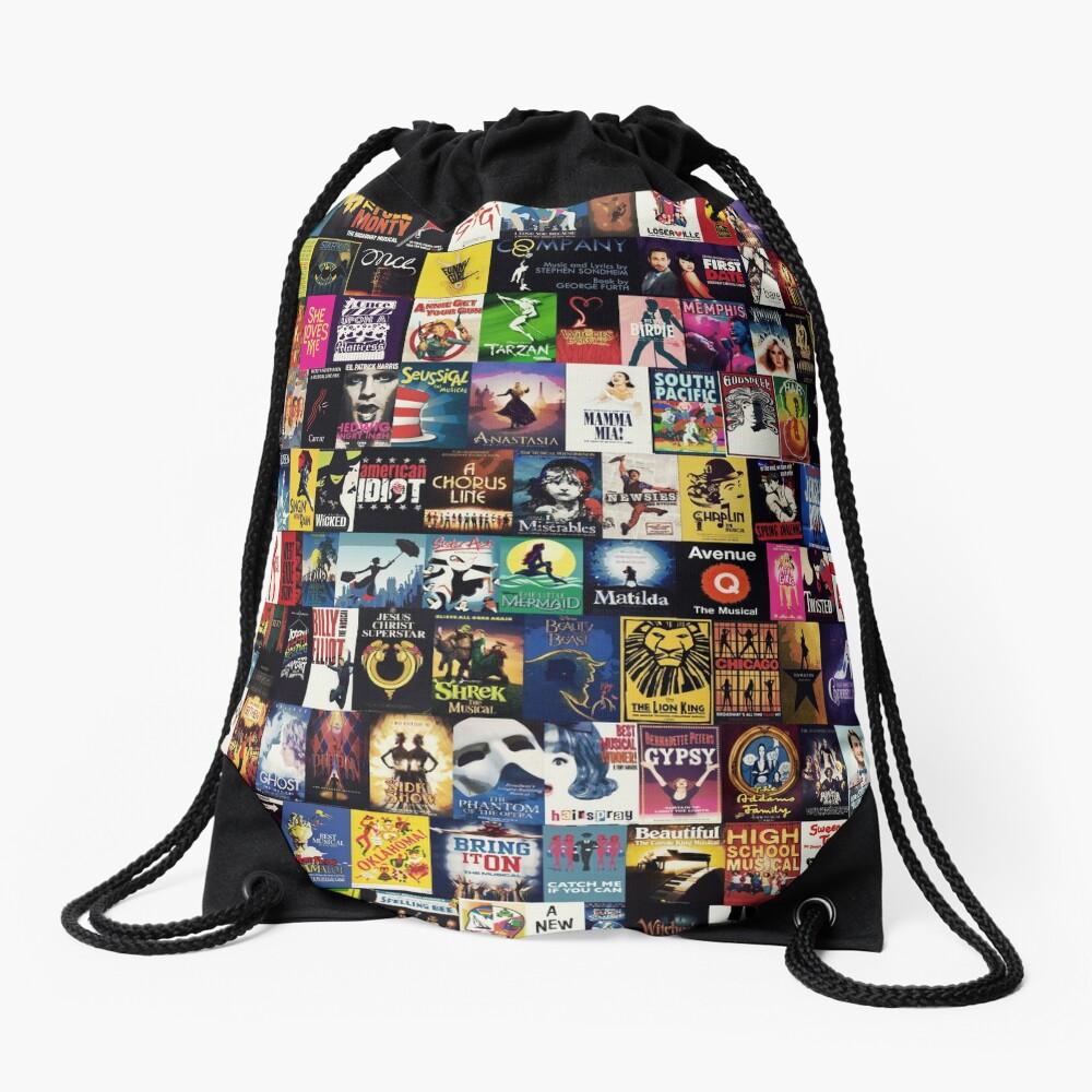 MUSICALS 2 (Duvet, phone case, mug, sticker etc) Drawstring Bag