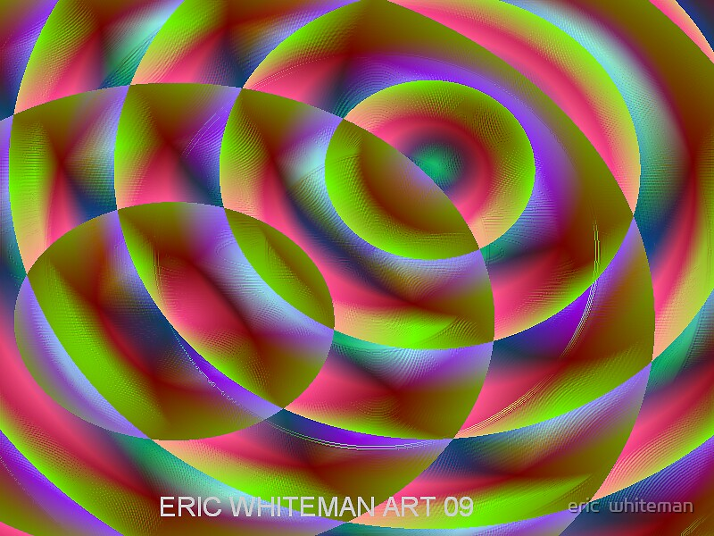 ( TRUMA ) ERIC WHITEMAN ART   by eric  whiteman