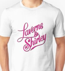 Laverne and Shirley Unisex T-Shirt