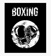 f8de77cb4a3a Gants de boxe rétro en détresse Tee Boxe T-Shirt Boxer cadeau Impression  photo
