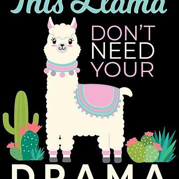 Drama Llama  by sonicdude242