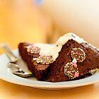 Chocolate cake by Cvail73