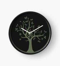 Give Back to Nature - Green Logo Clock