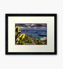 Up on Mt. Oberon Framed Print
