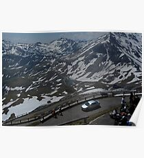 The Grossglockner Alpine  Road Poster