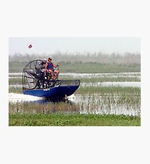 Airboating the Kissimee Photographic Print