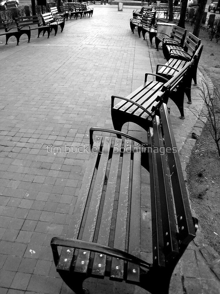 seats. lower manhattan, nyc by tim buckley | bodhiimages