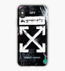 OFF WHITE Galaxy Brushed iPhone Case