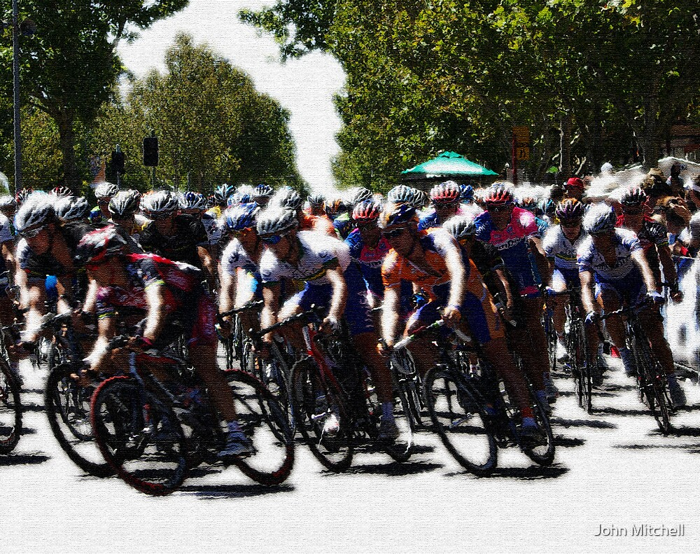 Tour Down Under Cycling Race, 2008 by John Mitchell