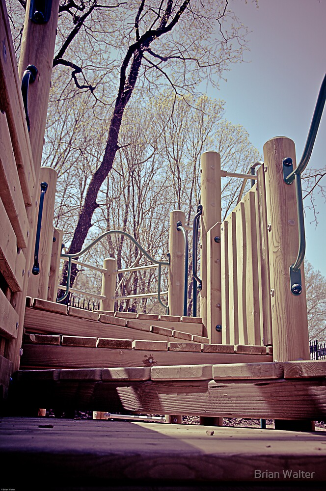 Playground Steps by Brian Walter