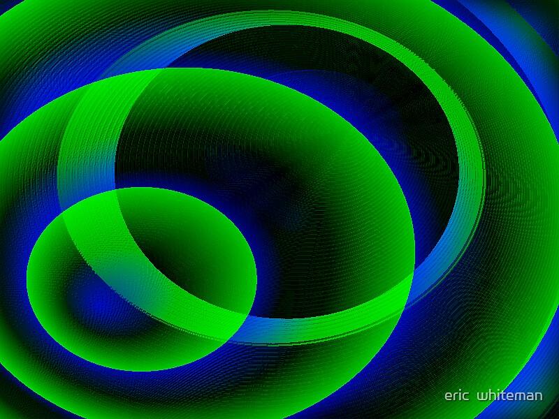 (STROLL THROUGH CYCBERSPACE ) ERIC WHITEMAN ART   by eric  whiteman