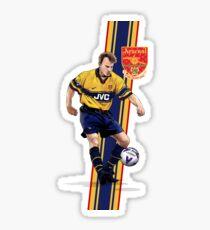 Dennis Bergkamp - Arsenal Legend Sticker