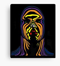 Contour Man (super-hero) Canvas Print