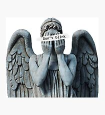 Weeping anegel Photographic Print