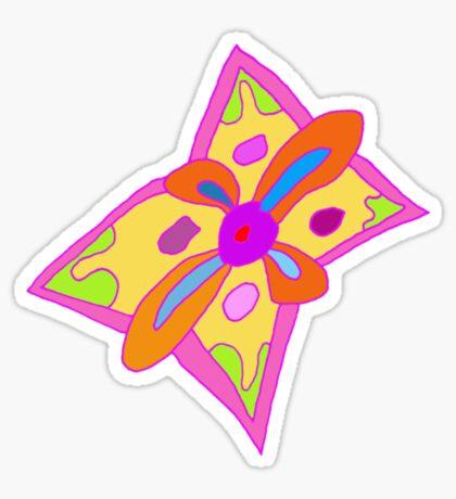 Freeform Flower Sticker