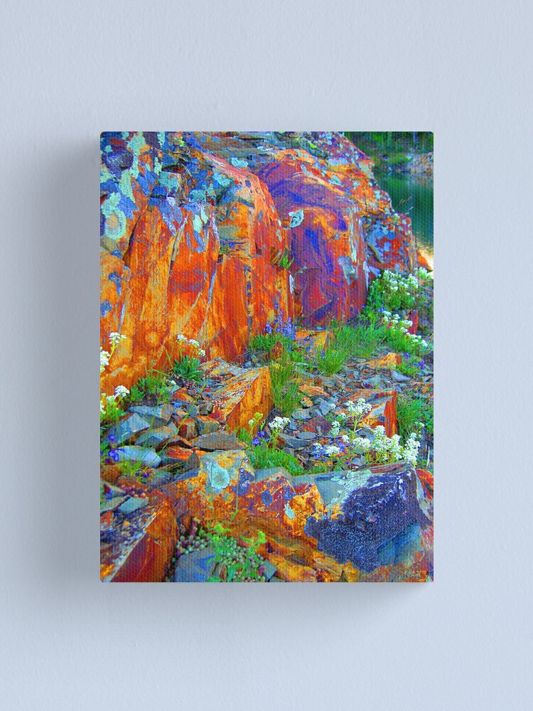 Alternate view of nature's pigments Canvas Print
