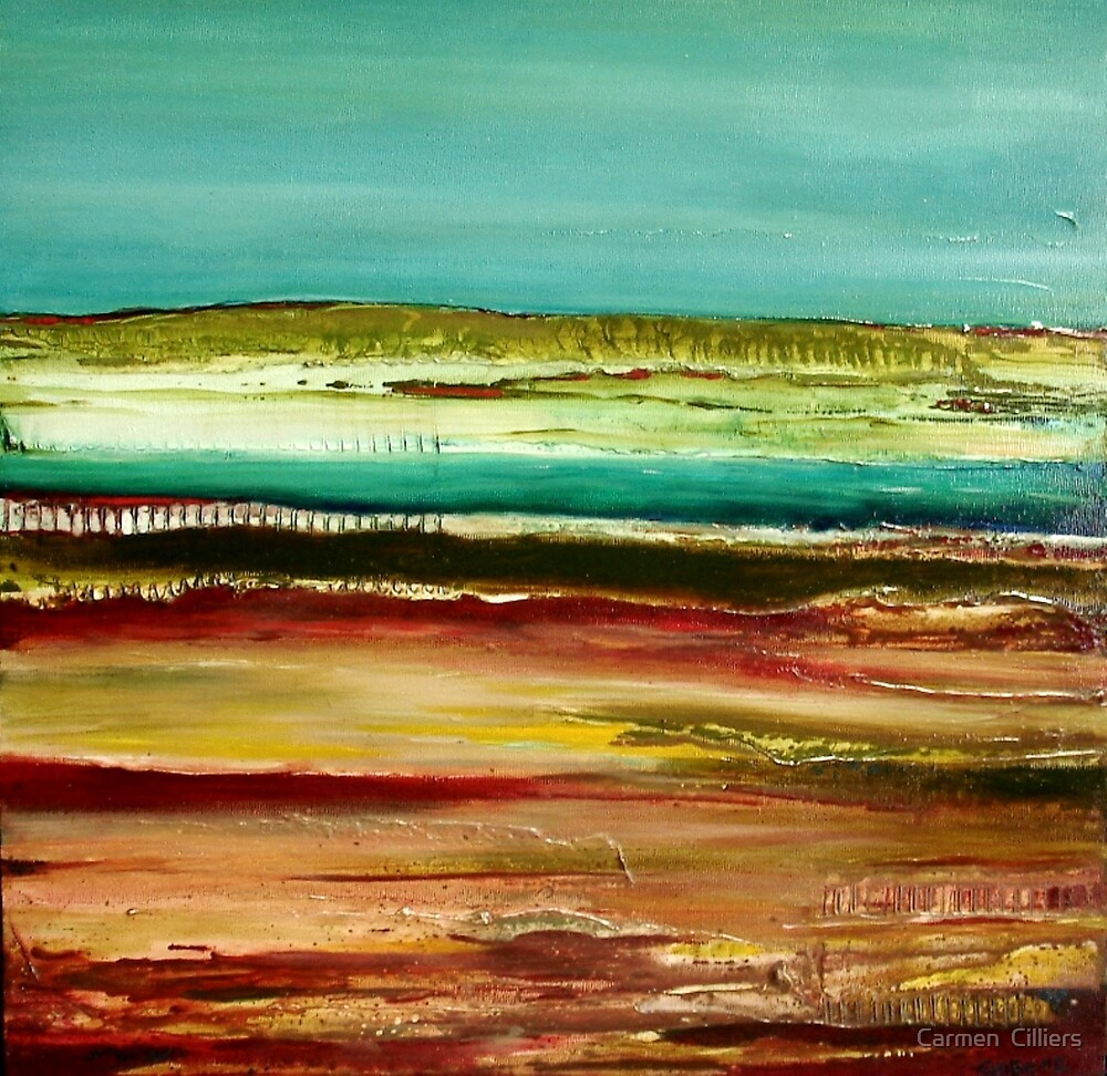 Out West by Carmen  Cilliers